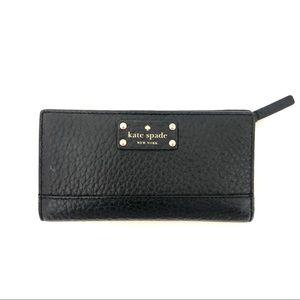 Kate Spade Bay Street Stacy Bifold Wallet Black